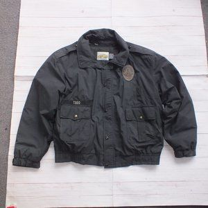 VINTAGE HORACE SMALL WEATHER4 LAPD LINED XL JACKET